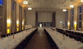 Dinner in Goethe Hall
